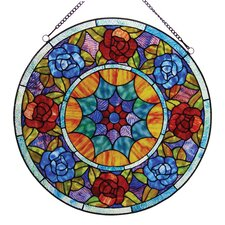 Tiffany Roses Window Panel