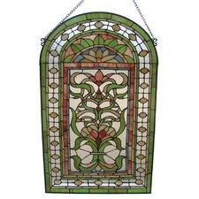 Tiffany Regency Floral Window Panel