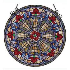 Tiffany Baroque Window Panel