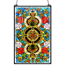 <strong>Chloe Lighting</strong> Eureka Sonara Victorian Window Panel
