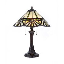 """York 22"""" H Table Lamp with Empire Shade"""