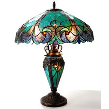 "Liaison 24.5"" H Table Lamp with Bowl Shade"