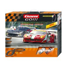 GO!! Power Grip Slot Car Playset