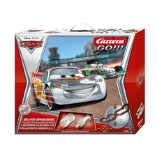 Go!! Disney Cars Speeders Slot Car Playset