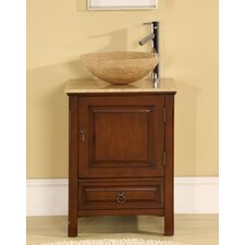 "<strong>Silkroad Exclusive</strong> Mercer 22"" Single Bathroom Vanity Set"