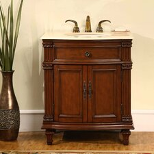 "<strong>Silkroad Exclusive</strong> Springfield 30.5"" Single Bathroom Vanity Set"