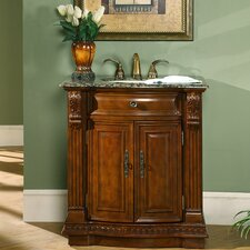 "Charlotte 33"" Single Bathroom Vanity Set"