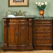 "Empress 53"" Single Sink Bathroom Vanity Set"