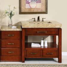 "Cameron 56"" Single Bathroom Vanity Set"