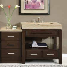 "Chester  56"" Single Bathroom Vanity Set"