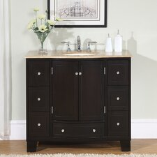 "Merrimack 40"" Single Bathroom Vanity Set"