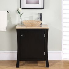 "<strong>Silkroad Exclusive</strong> Northampton 26"" Single Bathroom Vanity Set"