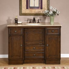 "<strong>Silkroad Exclusive</strong> Albany 48"" Single Bathroom Vanity Set"