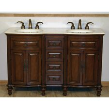 "Cumberland 55"" Double Bathroom Vanity Set"