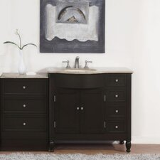 "Hamilton 58"" Single Bathroom Vanity Set"