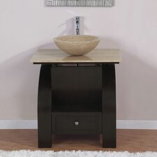 "<strong>Silkroad Exclusive</strong> Niagara 30"" Single Bathroom Vanity Set"