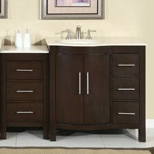 "Kimberly 54"" Single Sink Bathroom Vanity Set"