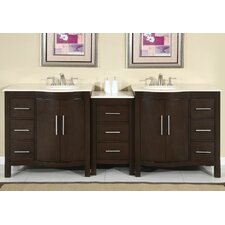 "Kimberly 89"" Double Sink Bathroom Vanity Set"