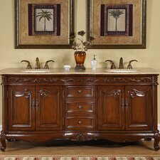 "Nassau 72"" Double Bathroom Vanity Set"