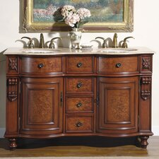 "Warren 55"" Double Bathroom Vanity"