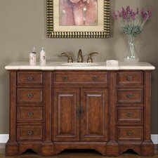 "Sabina 58"" Single Sink Bathroom Vanity Set"