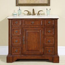 "Jennifer 40"" Single Sink Bathroom Vanity Set"