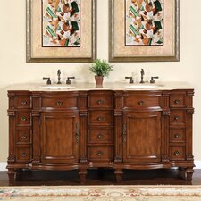 "Blair 72"" Double Bathroom Vanity Set"