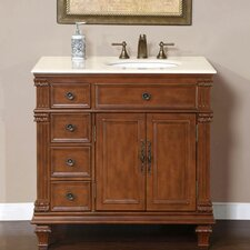 "Esther 36"" Single Sink Bathroom Vanity Set"