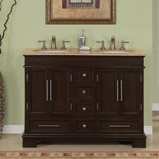 "Sally 48"" Double Sink Bathroom Vanity Set"