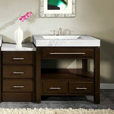 "Stanton 56"" Single Sink Cabinet Bathroom Vanity Set"