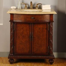 "Butler 33.75"" Single Bathroom Vanity Set"