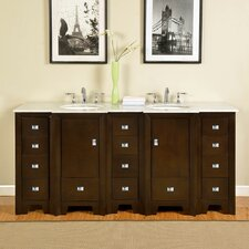 "Ilene 73"" Double Bathroom Vanity Set"