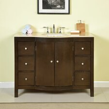 "Kimberly 48"" Single Bathroom Vanity Set"