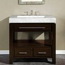 "Stanton 36"" Single Sink Cabinet Bathroom Vanity Set"