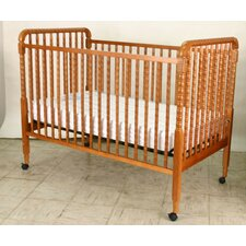 Angel Line Fixed Side Round Crib And Mattress Set The