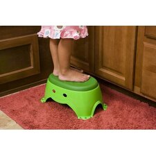 <strong>Mommy's Helper</strong> Frog Step Stool