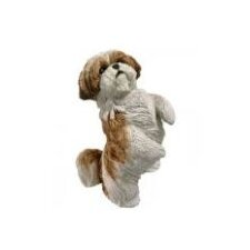 Standing Gold Shih Tzu Christmas Ornament