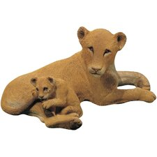 Forever Friends Lion and Cub Sculpture