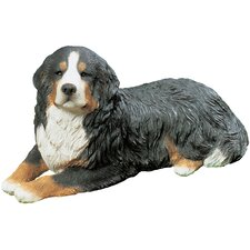Mid Size Bernese Mountain Dog Sculpture