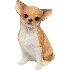 <strong>Sandicast</strong> Mid Size Chihuahua Sculpture in Fawn