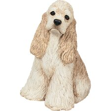 <strong>Sandicast</strong> Mid Size Sculptures Cocker Spaniel Figurine
