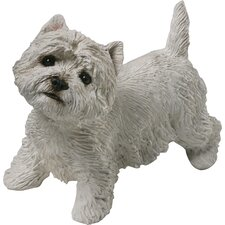 <strong>Sandicast</strong> Mid Size Sculptures West Highland White Terrier Figurine