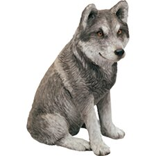 Mid Size Sculptures Exican Wolf Figurine