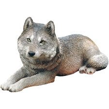 <strong>Sandicast</strong> Original Size Sculptures Wolf Figurine