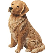 <strong>Sandicast</strong> Original Size Sculptures Sandicast Sitting Retriever Figurine