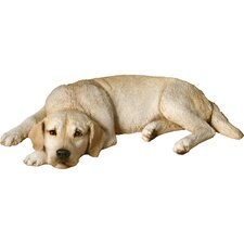Original Size Sleepy Labrador Retriever Sculpture