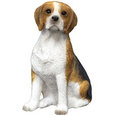<strong>Sandicast</strong> Small Size Sculptures Sitting Beagle Figurine
