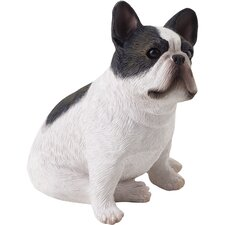 Small Size French Bulldog Sculpture in Brindle
