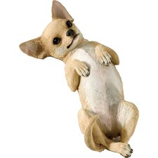 Small Size Playful Chihuahua Sculpture in Tan