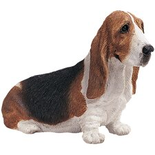 <strong>Sandicast</strong> Basset Hound Small Size Sculpture